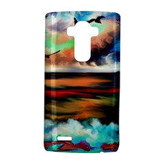 Ocean Waves Birds Colorful Sea Lg G4 Hardshell Case