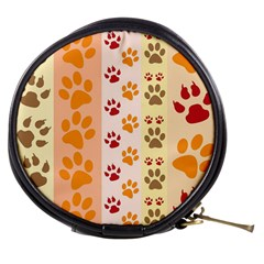 Paw Print Paw Prints Fun Background Mini Makeup Bags