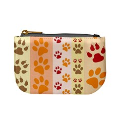 Paw Print Paw Prints Fun Background Mini Coin Purses