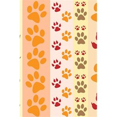 Paw Print Paw Prints Fun Background 5 5  X 8 5  Notebooks
