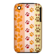 Paw Print Paw Prints Fun Background Iphone 3s/3gs