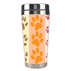 Paw Print Paw Prints Fun Background Stainless Steel Travel Tumblers