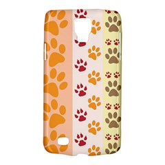 Paw Print Paw Prints Fun Background Galaxy S4 Active