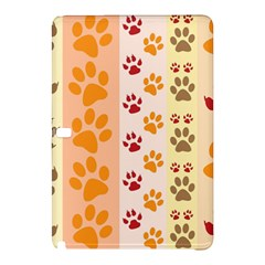 Paw Print Paw Prints Fun Background Samsung Galaxy Tab Pro 10 1 Hardshell Case
