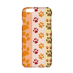 Paw Print Paw Prints Fun Background Apple Iphone 6/6s Hardshell Case