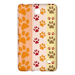 Paw Print Paw Prints Fun Background Samsung Galaxy Tab 4 (8 ) Hardshell Case