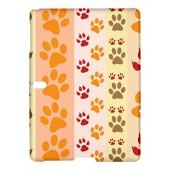 Paw Print Paw Prints Fun Background Samsung Galaxy Tab S (10 5 ) Hardshell Case