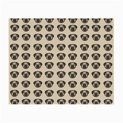 Puppy Dog Pug Pup Graphic Small Glasses Cloth