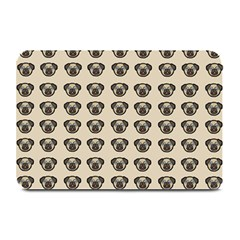 Puppy Dog Pug Pup Graphic Plate Mats