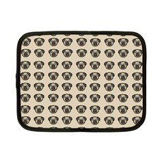 Puppy Dog Pug Pup Graphic Netbook Case (small)