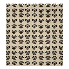 Puppy Dog Pug Pup Graphic Shower Curtain 66  X 72  (large)