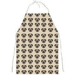 Puppy Dog Pug Pup Graphic Full Print Aprons