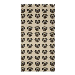 Puppy Dog Pug Pup Graphic Shower Curtain 36  X 72  (stall)