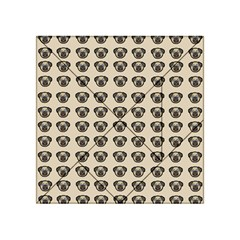 Puppy Dog Pug Pup Graphic Acrylic Tangram Puzzle (4  X 4 )