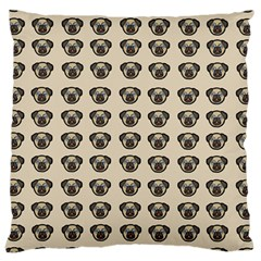 Puppy Dog Pug Pup Graphic Large Cushion Case (one Side)