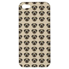 Puppy Dog Pug Pup Graphic Apple Iphone 5 Hardshell Case