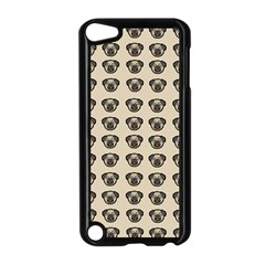 Puppy Dog Pug Pup Graphic Apple Ipod Touch 5 Case (black)
