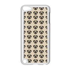 Puppy Dog Pug Pup Graphic Apple Ipod Touch 5 Case (white)
