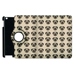 Puppy Dog Pug Pup Graphic Apple Ipad 2 Flip 360 Case