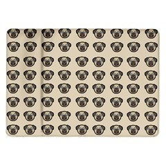 Puppy Dog Pug Pup Graphic Samsung Galaxy Tab 10 1  P7500 Flip Case