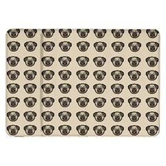 Puppy Dog Pug Pup Graphic Samsung Galaxy Tab 8 9  P7300 Flip Case