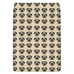 Puppy Dog Pug Pup Graphic Flap Covers (l)