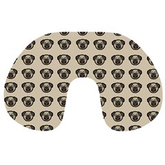 Puppy Dog Pug Pup Graphic Travel Neck Pillows