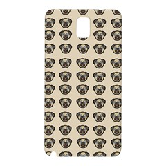 Puppy Dog Pug Pup Graphic Samsung Galaxy Note 3 N9005 Hardshell Back Case