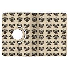 Puppy Dog Pug Pup Graphic Kindle Fire HDX Flip 360 Case