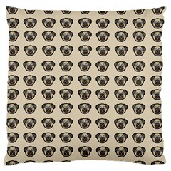 Puppy Dog Pug Pup Graphic Standard Flano Cushion Case (two Sides)
