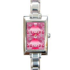 Seamless Repeat Repeating Pattern Rectangle Italian Charm Watch