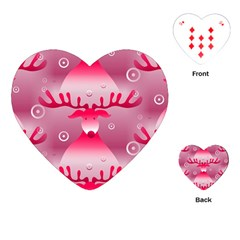 Seamless Repeat Repeating Pattern Playing Cards (heart)