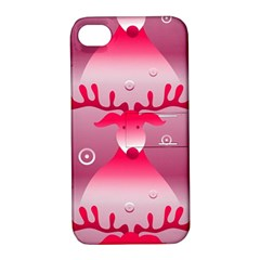 Seamless Repeat Repeating Pattern Apple Iphone 4/4s Hardshell Case With Stand
