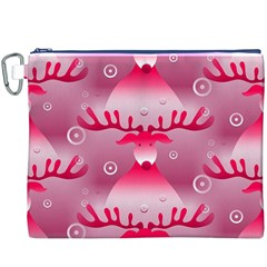 Seamless Repeat Repeating Pattern Canvas Cosmetic Bag (xxxl)