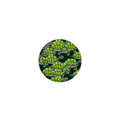 Seamless Tile Background Abstract Turtle Turtles 1  Mini Buttons