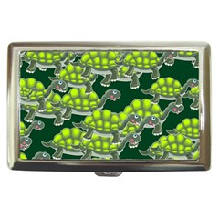 Seamless Tile Background Abstract Turtle Turtles Cigarette Money Cases