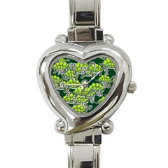 Seamless Tile Background Abstract Turtle Turtles Heart Italian Charm Watch