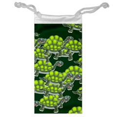 Seamless Tile Background Abstract Turtle Turtles Jewelry Bag