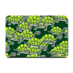 Seamless Tile Background Abstract Turtle Turtles Small Doormat