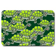 Seamless Tile Background Abstract Turtle Turtles Large Doormat