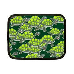 Seamless Tile Background Abstract Turtle Turtles Netbook Case (small)