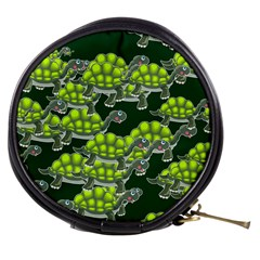 Seamless Tile Background Abstract Turtle Turtles Mini Makeup Bags