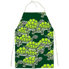 Seamless Tile Background Abstract Turtle Turtles Full Print Aprons