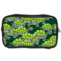 Seamless Tile Background Abstract Turtle Turtles Toiletries Bags