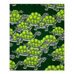 Seamless Tile Background Abstract Turtle Turtles Shower Curtain 60  X 72  (medium)