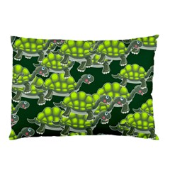 Seamless Tile Background Abstract Turtle Turtles Pillow Case (two Sides)