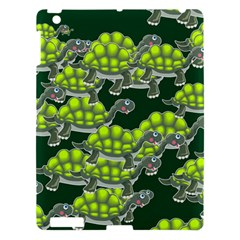 Seamless Tile Background Abstract Turtle Turtles Apple Ipad 3/4 Hardshell Case