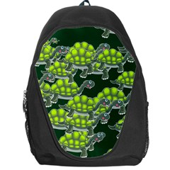 Seamless Tile Background Abstract Turtle Turtles Backpack Bag