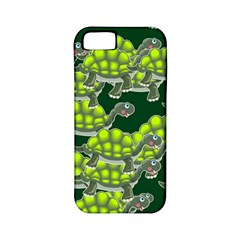 Seamless Tile Background Abstract Turtle Turtles Apple Iphone 5 Classic Hardshell Case (pc+silicone)