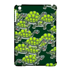 Seamless Tile Background Abstract Turtle Turtles Apple Ipad Mini Hardshell Case (compatible With Smart Cover)